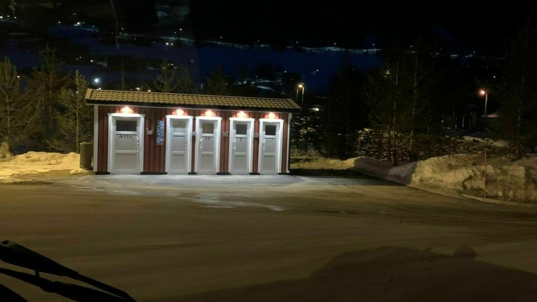 Haukelitunet ved E134 er bare ett av flere steder som er permanent stengt eller har automatisk nattstenging, skriver YTF i en pressemelding. Dette toalettet stenges med automatisk lås kl. 22:00 opplyser forbundet.