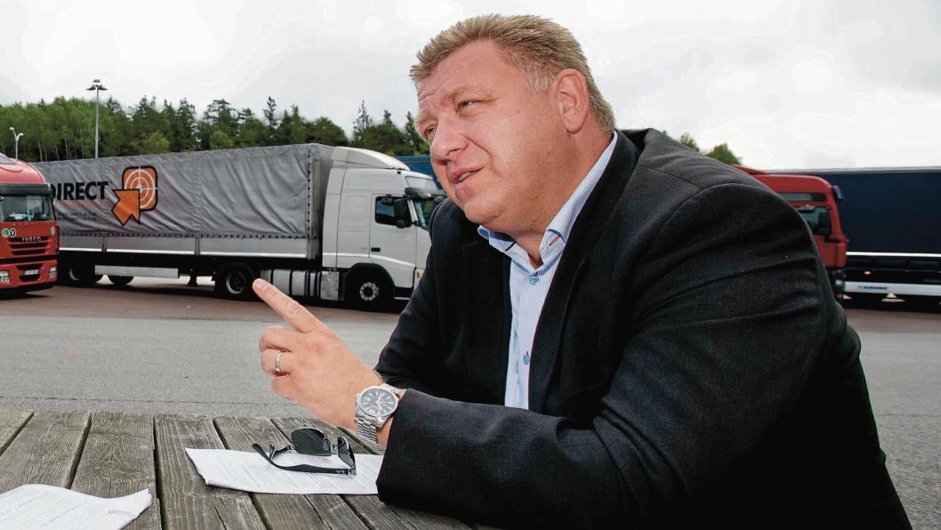 Geir A. Mo mener at støttetiltakene slår ut urettferdig for transportnæringen.
