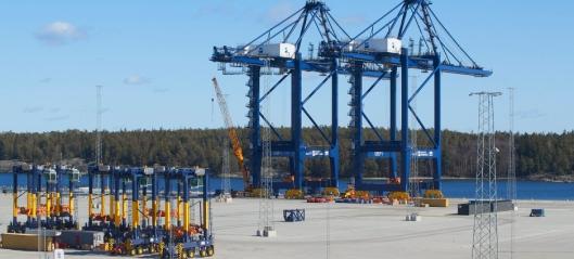 Koblet ny Stockholm-havn til jernbanenettet