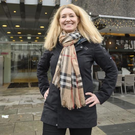 MGF-direktør Tone Lindberg Grøstad kan smile over at medlemmene i gaffeltruckgruppen har hatt et svært godt første kvartal.