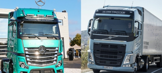 Volvo og Daimler går sammen
