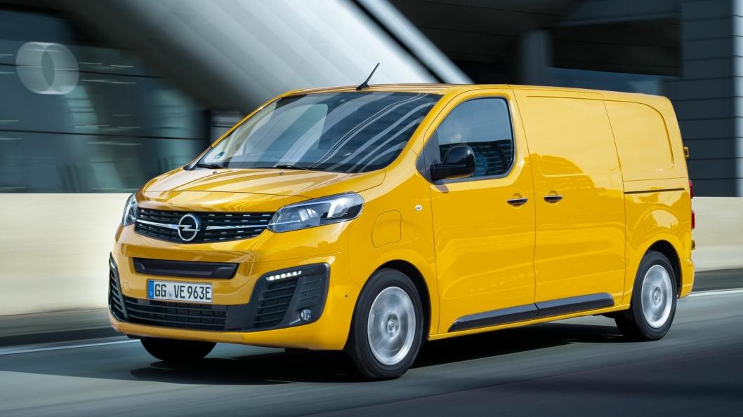 Opel Vivaro-e kommer til høsten.