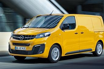 Opels første e-varebil