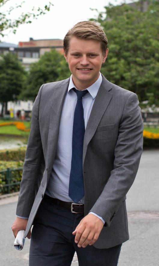 Peter Frølich er mildt sagt uenig i regjeringens linje i Norwegian Gannet-saken.