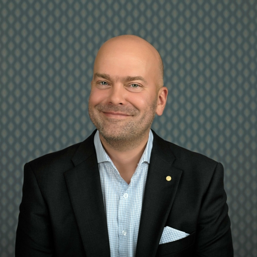 CEO i Fjord Line Rickard Ternblom.