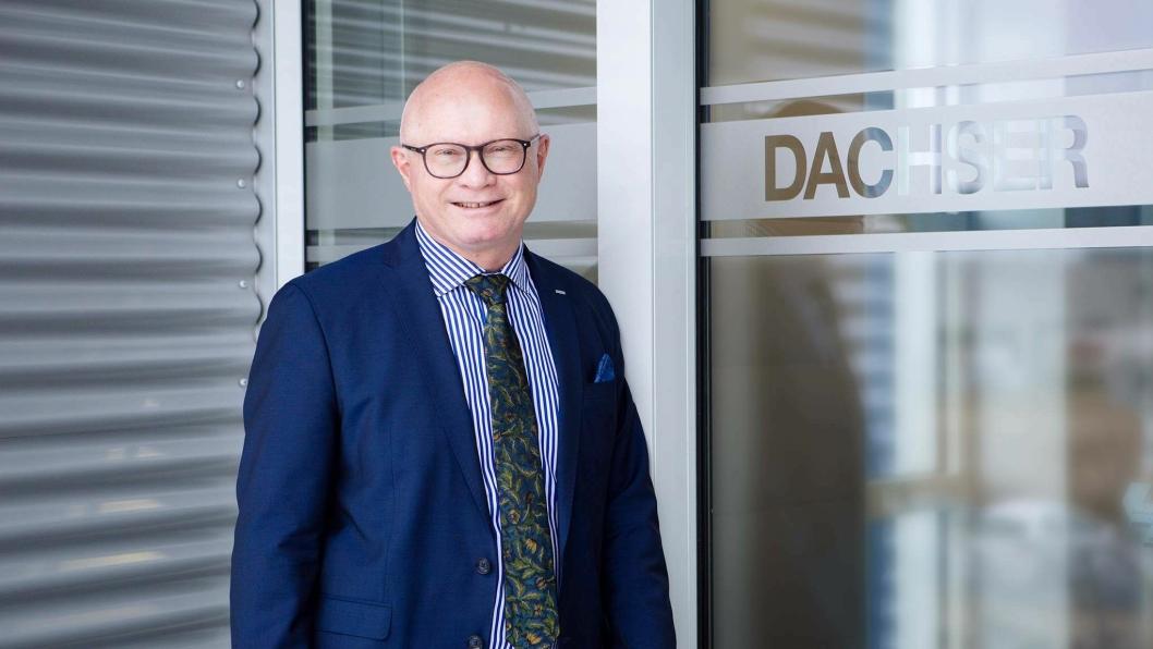 Managing director i Dachser Nordic, René Sidor, er strålende fornøyd med veksten i Norge.