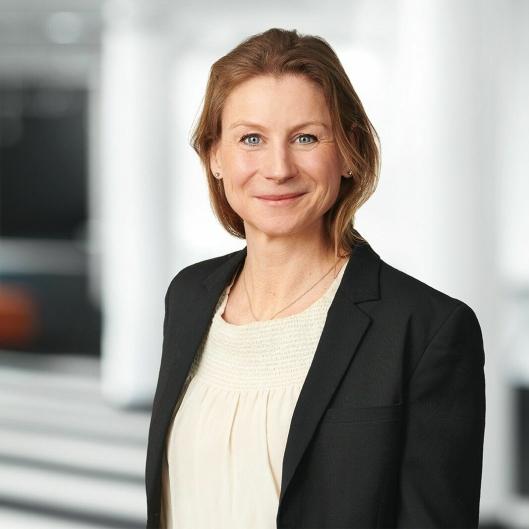 Ida Aall Gram, Konserndirektør Eiendom, HR og Kommunikasjon i AF Gruppen.