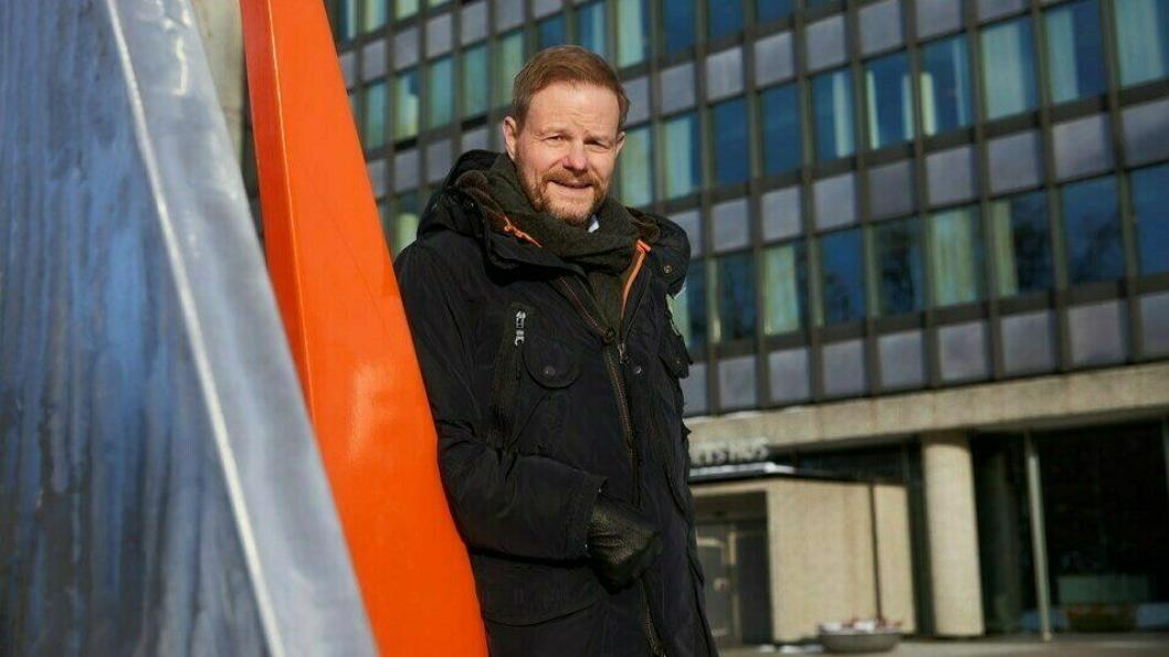 NHO LT-sjef Are Kjensli frykter full veibruksavgift på alt biodrivstoff fra 1. juli.