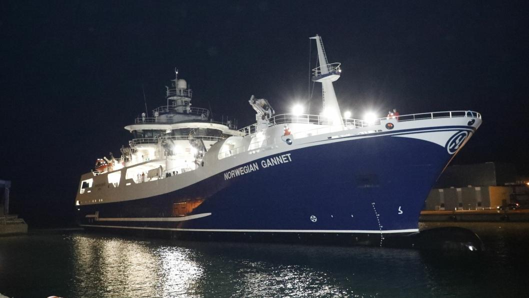 1. juli er det slutt for driften til Norwegian Gannet, om ikke Hav Line vinner fram i retten, eller det kommer en ny ordning på plass.