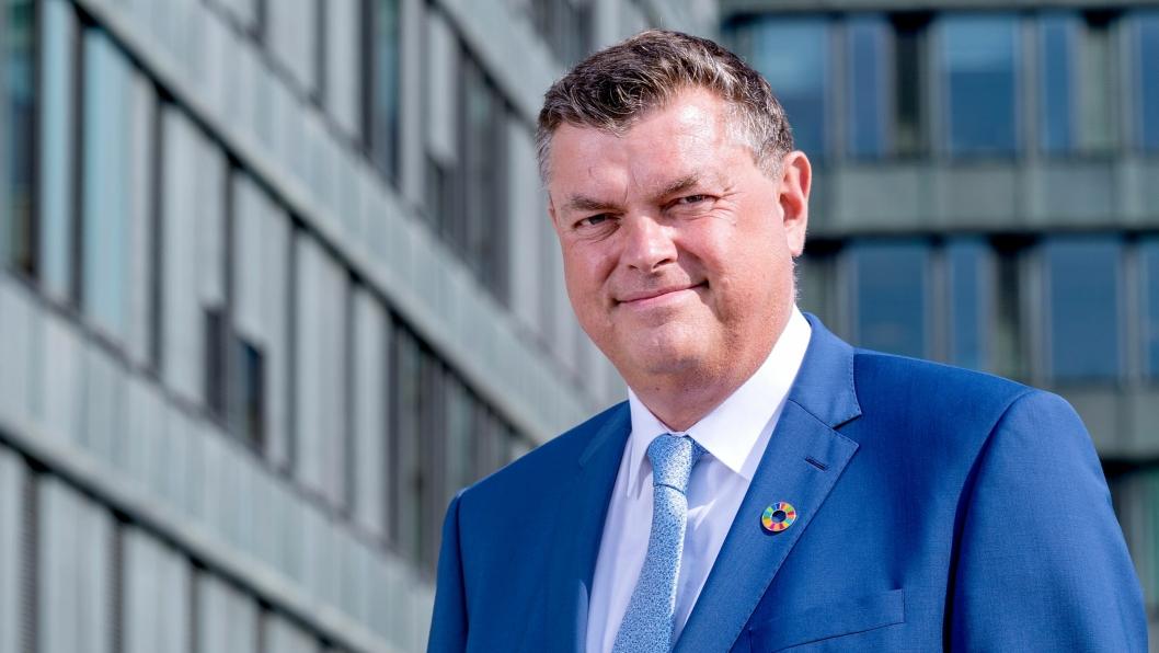 Mogens Jensen er dansk minister for matvarer, fiskeri og likestilling og minister for nordisk samarbeid.