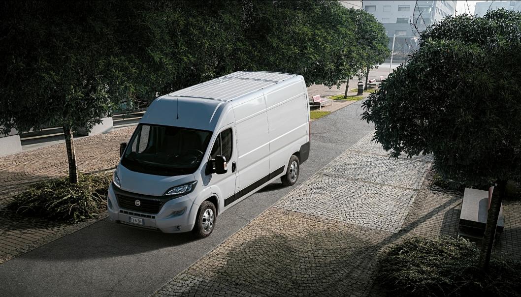 Med en elektrisk rekkevidde på godt over 30 mil kan E-Ducato fint benyttes også utenfor bykjernen.