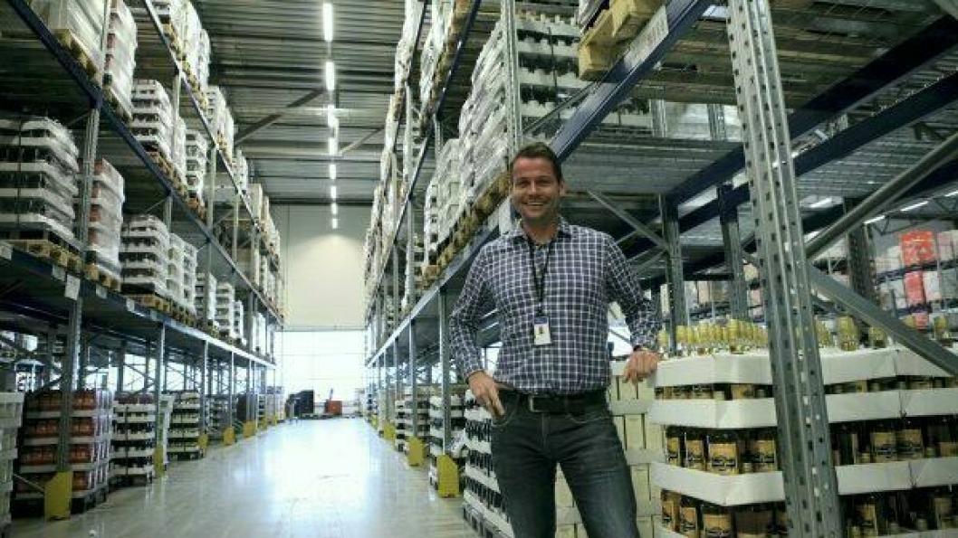 Anders Skaslien har fått et stort ansvar for logistikken på Norges Varemesse. Foto: Per Dagfinn Wolden