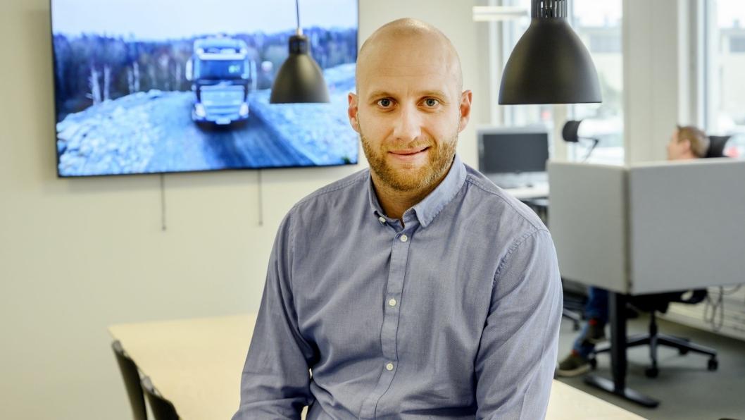Karstein Ahlin er ny toppsjef i Volvo Trucks Norge.