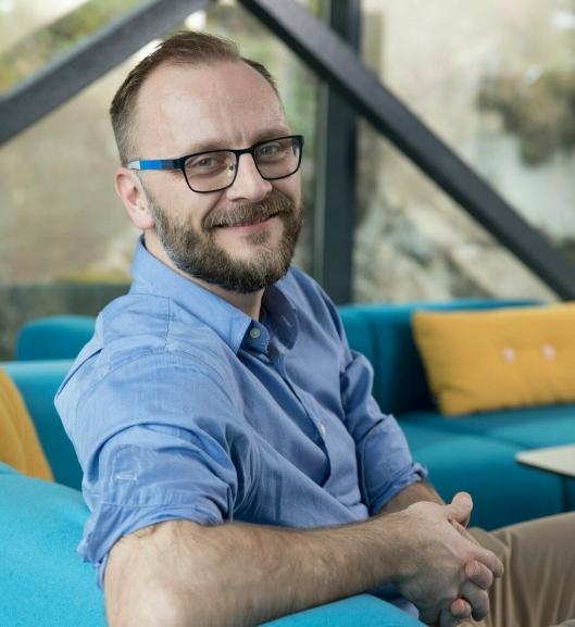 Steffen Larvoll høyner kvaliteten i Logma.