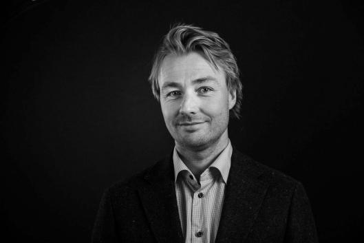 Prosjektsjef Halvor S. Snarvold i Fabritius.