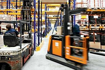 Lønnshopp for lageransatte og sjåfører