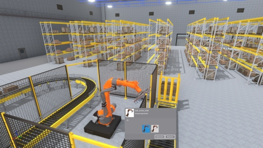 Med verktøyet kan man bygge et virtuelt lager og få en nøyaktig pris før man bestemmer seg for layout og innredning.