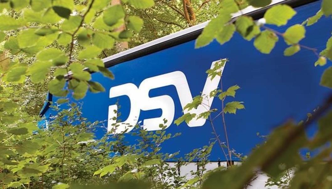 Den verdensledende transport- og logistikkleverandøren, DSV, kjører Kongsberg-godset.
