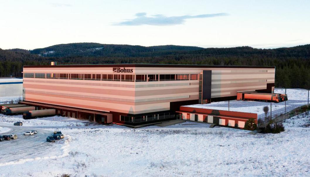 Bohus bygger nytt sentrallager på Fetsund, og det skal fylles med innmat og automatiske systemer fra Jungheinrich.