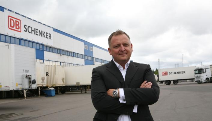 Peter Stangeland i DB Schenker gleder seg over fornyet tillit fra Ahlsell.