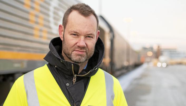 FRUSTRERT: Erik Røhne, administrerende direktør i CargoNet.