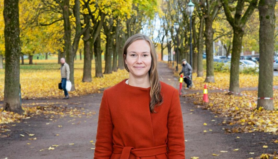 Karoline Bjørklund (35) er «headhuntet» for å ta seg av Høyres transport- og kommunikasjonspolitikk.