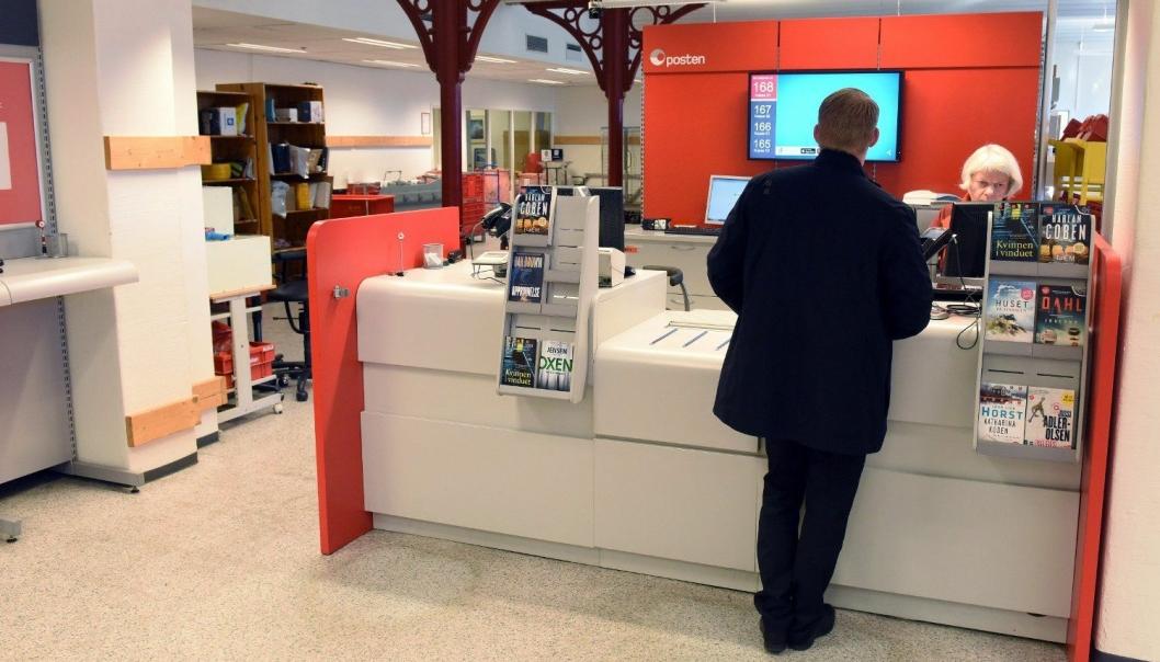I slutten av 2022 vil det bare være seks postkontor igjen i Norge.