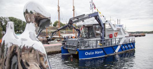 Unik båt til Oslo Havn