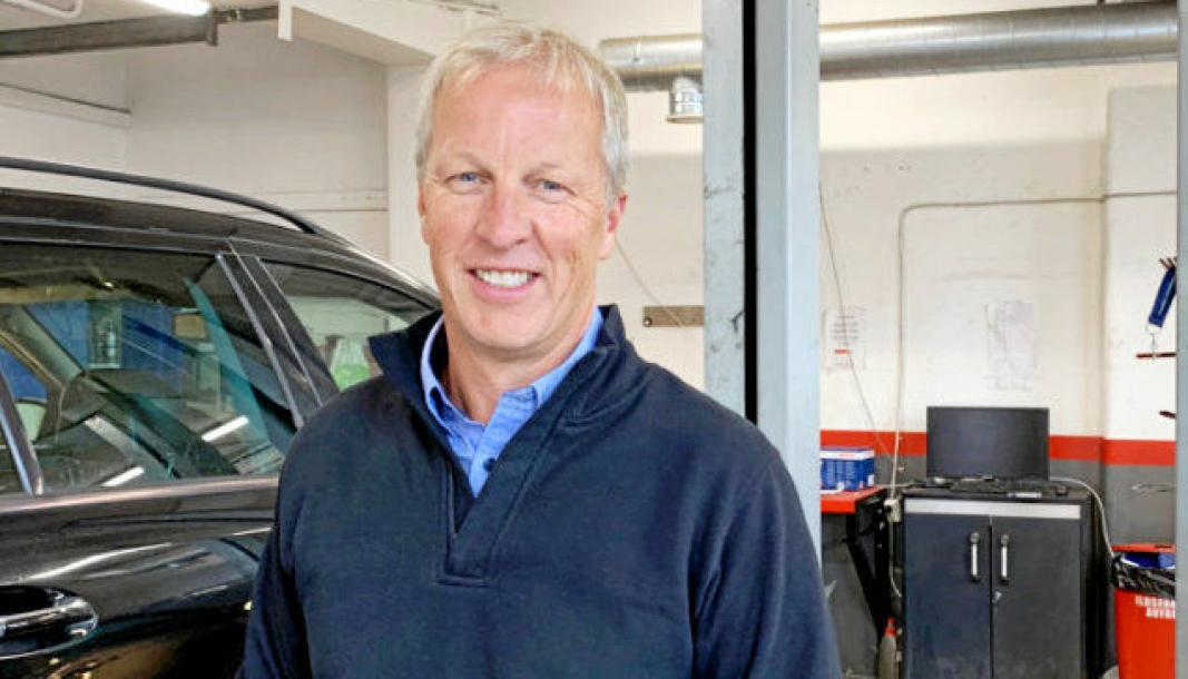 Kleppan ny daglig leder i Forlaget Last og Buss. Jarle Kleppan startet i sin nye jobb 24. august 2020. Han var tidligere salgsdirektr for Caterpillar i Pon Equipment. Foto: Forlget Last og Buss
