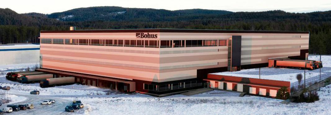 KUNDE 1: Bohus' ny lager på Fetsund får en høy grad av automasjon takket være Jungheinrichs løsninger.