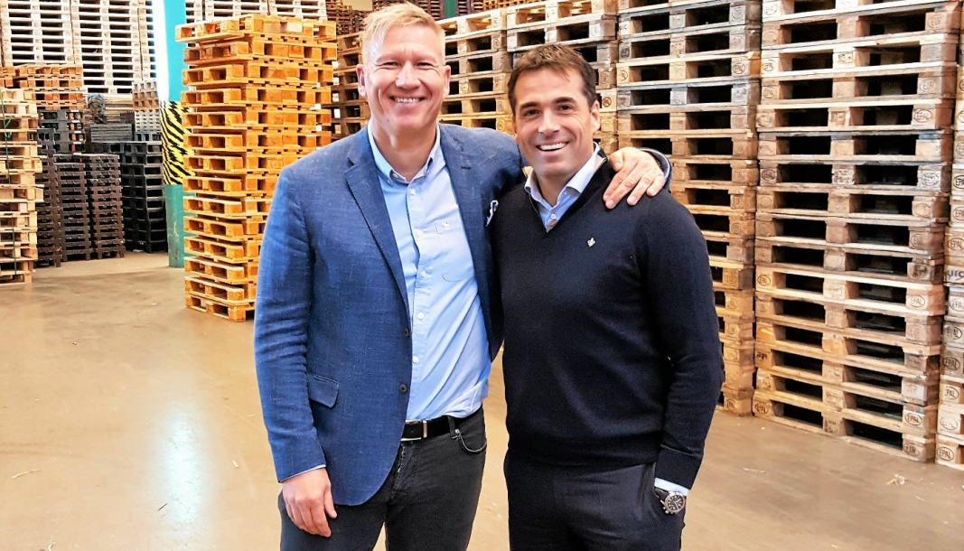 Søren Eriksen og Martin Andresen eide fram til 1. september en halvdel hver av Smart Retur. Nå overtar Norvestor 75 prosent av selskapet.