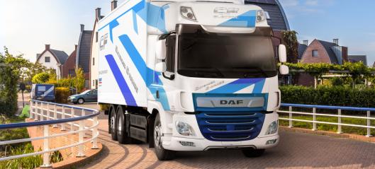 Dobler rekkevidden til DAF CF Electric