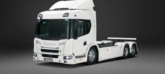 Scania lanserer hel-elektrisk lastebil