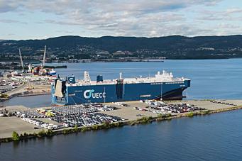Verdens største anløp Drammen