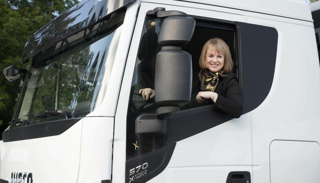 Helene Norman-Dupuy er ny Country Manager for Iveco i Norge.  Foto: IVECO