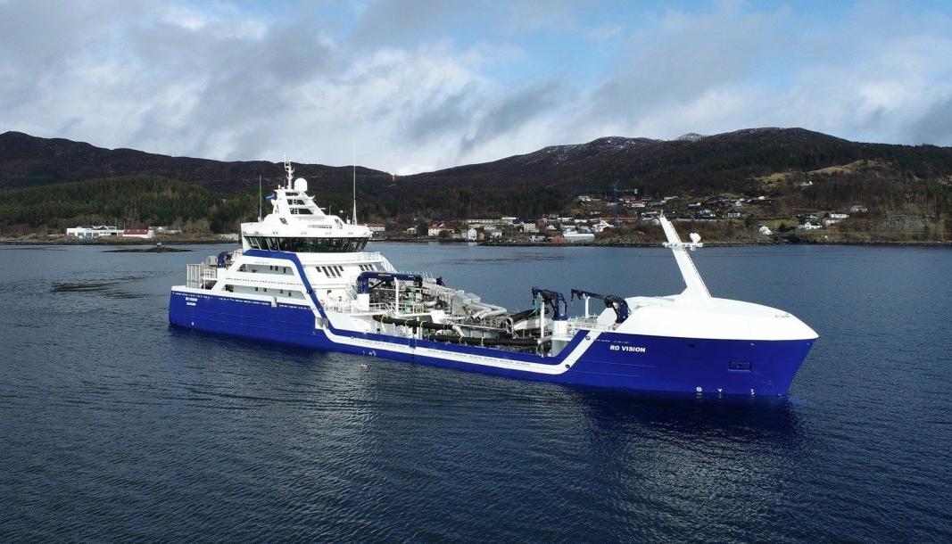 Brønnbåten «Ro Vision» er kåret til Ship of the Year