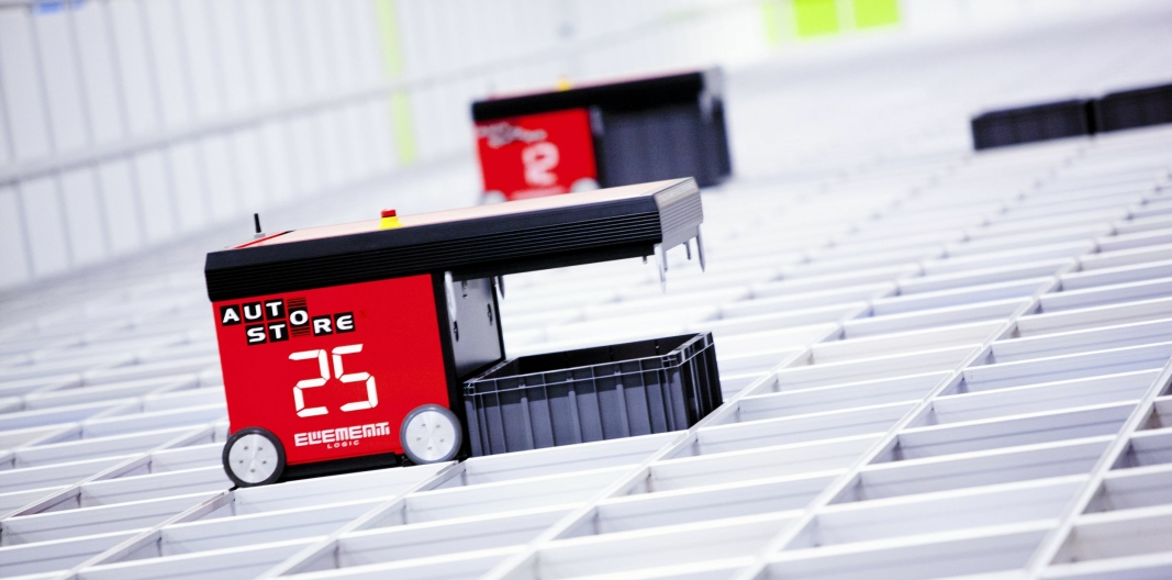 Element Logic er Norges ledende leverandør av AutoStore-installasjoner.