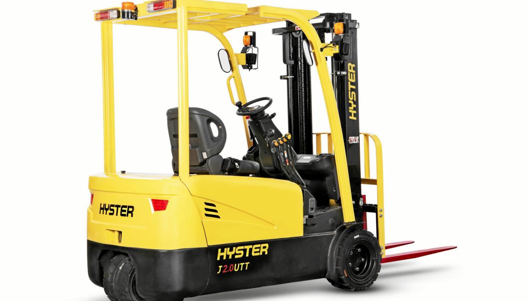 OPPTIL 3,5 TONN: Hyster UT-serien er utviklet med tanke på enkel drift, enkelt vedlikehold og lave kostnader.