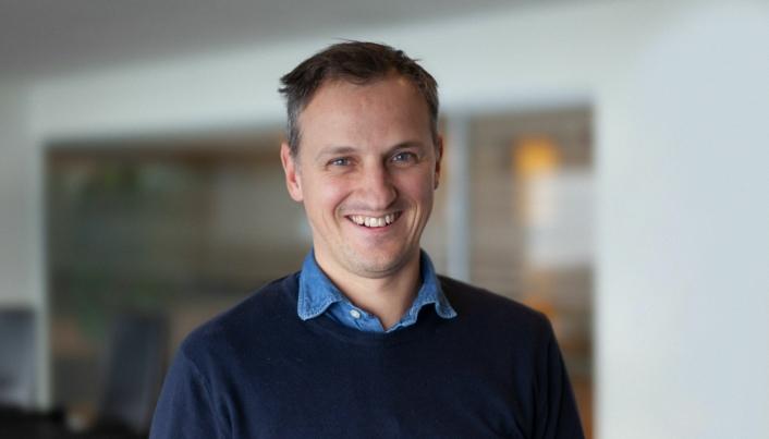 Produktsjef Bjørnar Kvalsnes, Maritech. Foto: Anunatak/Elin Herjehagen