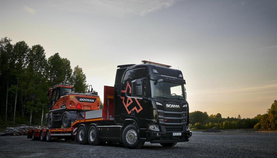 Scania R 770 XT V8 6x4 Highline, tungtransport. Denne kan bli en hit i Norge.