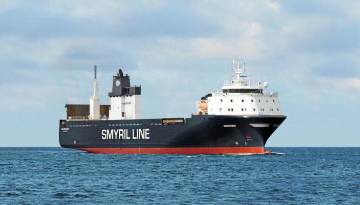 Smyril Line Cargos Vellykkede «Lakseekspress».