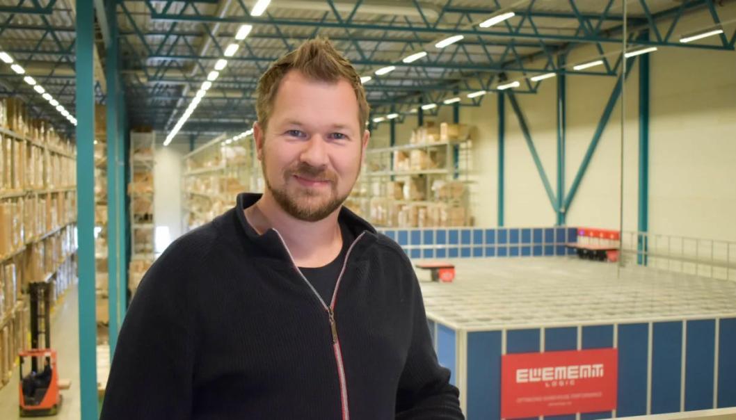 Richard Pedersen er ny innkjøps- og logistikksjef i CBK Distribusjon AS. Click to add image caption
