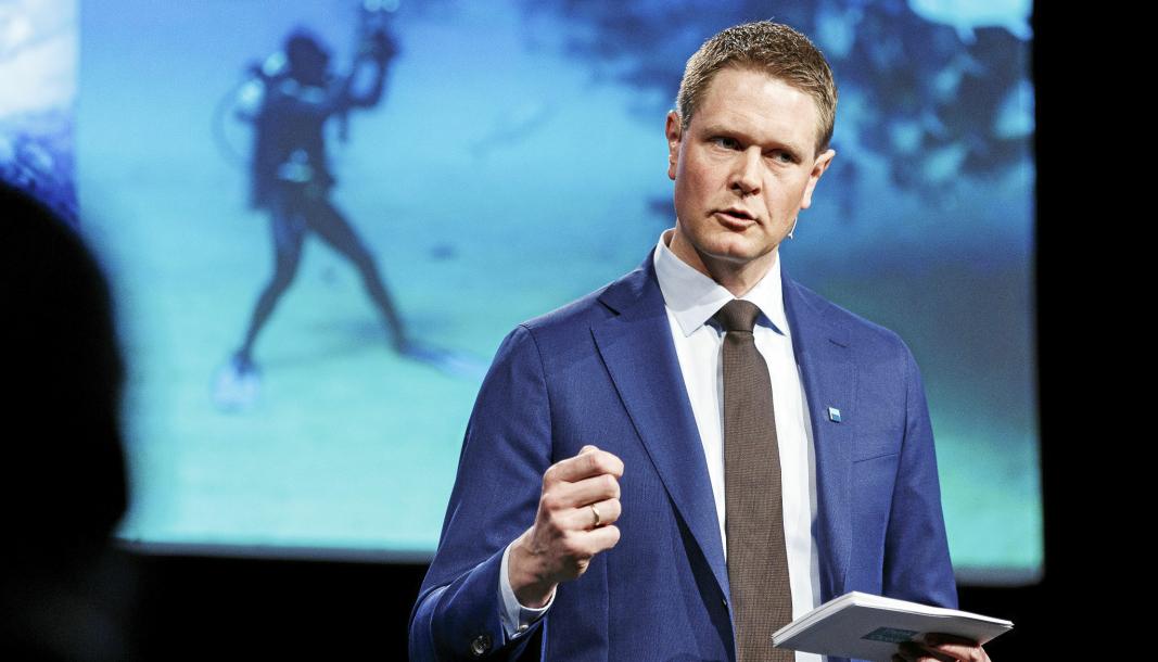 Harald Solberg , administrerende direktør i Rederiforbundet.