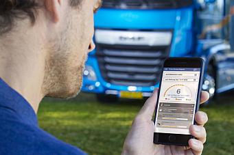 Ny DAF-app skal redusere drivstofforbruket