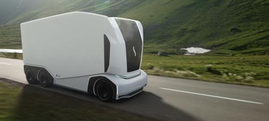 Får ikke teste autonom lastebil fordi den ikke kan fremvise førerkort eller bevise at den er edru