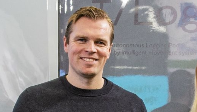 Robert Falck er grunnlegger og CEO i Einride.