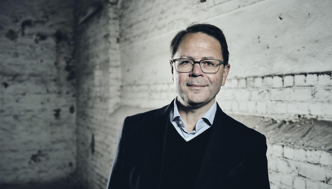 Morten Strand, CEO Abax Group.