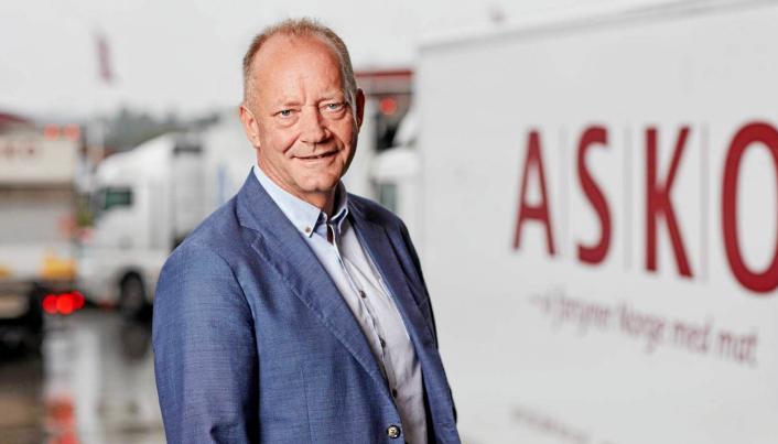 Tore Bekken, administrerende direktør i Asko.