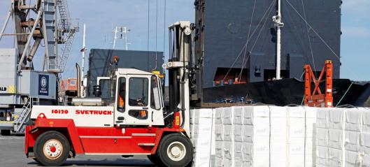 92 millioner til godsøverføring