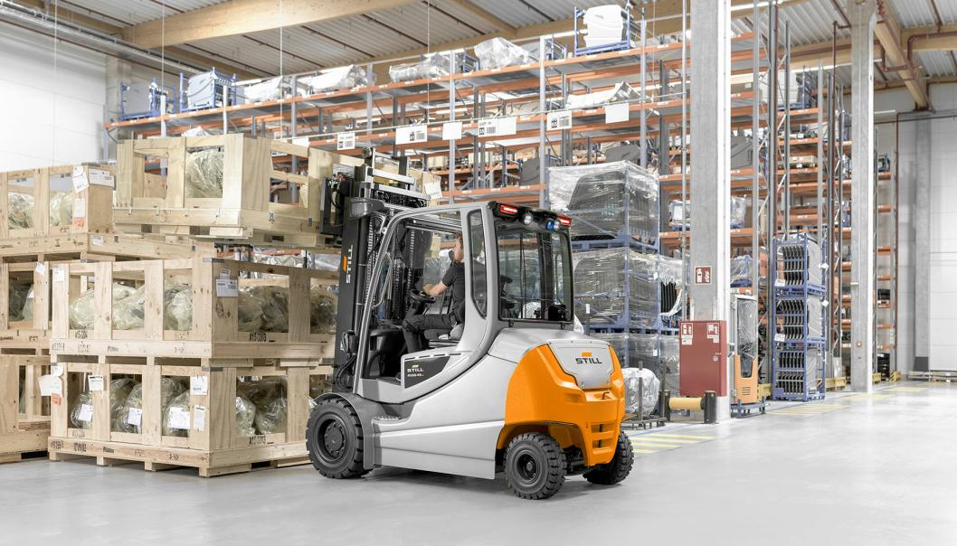 Nye RX60-35/50 kan kjøres to skift før det trengs batteribytte eller lading.